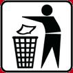 不乱扔垃圾