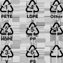 可回收塑料