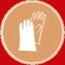 Использовать в защитных перчатках